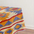 Southwestern navajo tribal pattern tablecloth