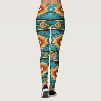 southwestern pattern leggings