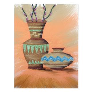 Southwestern Pottery SP1 Postcard