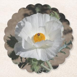 Southwestern Pricklypoppy Paper Coaster