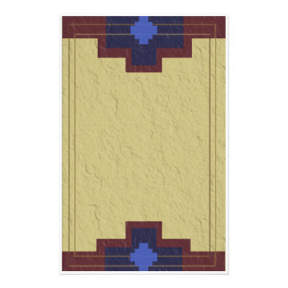 southwestern stucco stationery design