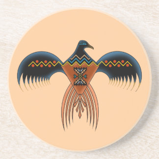 Southwestern Style Eagle Beverage Coaster