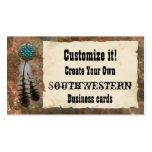 Southwestern Style Pack Of Standard Business Cards