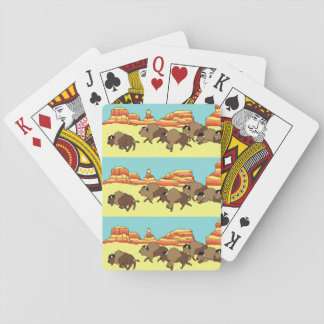 Soutwest Buffalo Playing Cards