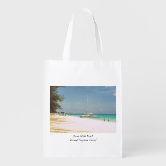 Souvenir Bag with Beach Scene
