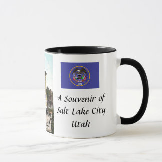 Souvenir Coffee Mug - Salt Lake City, Utah