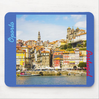 Souvenir from Oporto city, Portugal Mouse Pad