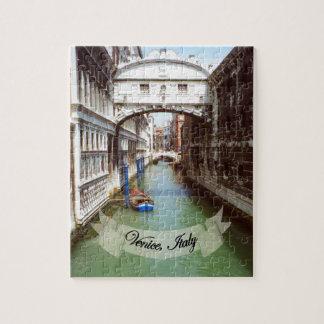 Souvenir from Venice Italy Bridge of Sighs Jigsaw Puzzle