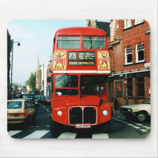 Souvenir London Bus Mouse Pad