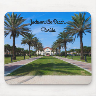 Souvenir mousepad from Jacksonville Beach, Florida