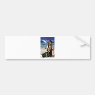 SOUVENIR OF CUBA BUMPER STICKER