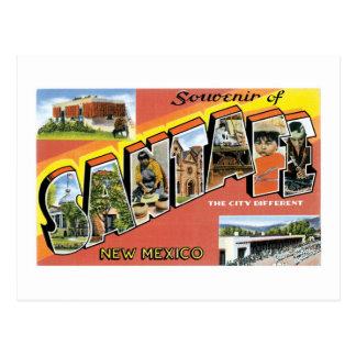 Souvenir of Santa Fe, New Mexico Postcard