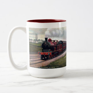 Souvenir Railway Mug - Leeds and Bradford Express