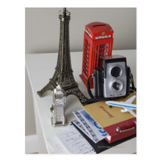 Souvenirs and camera post card
