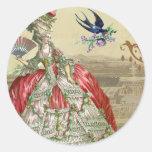 Souvenirs de Versailles Envelope Seal Stickers