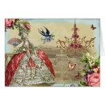 Souvenirs de Versailles Happy Birthday Greeting Card
