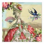 Souvenirs de Versailles 13 Cm X 13 Cm Square Invitation Card