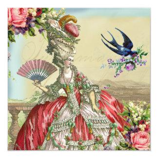 Souvenirs de Versailles 5.25x5.25 Square Paper Invitation Card