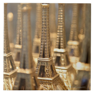 Souvenirs of Eiffel Tower Ceramic Tile