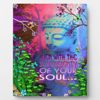 Sovereignty Buddha Picture Plaque