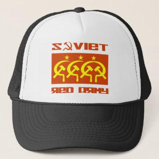 Soviet CCCP Red Army Trucker Hat