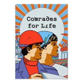 Soviet Comrades For Life Invitations