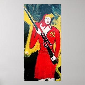 SOVIET DEFENSE POSTER