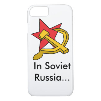 Soviet Russia iPhone 7 Case