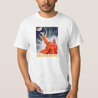 Soviet Space Propaganda Poster Shirt