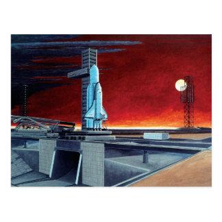 Soviet Space Shuttle Postcard