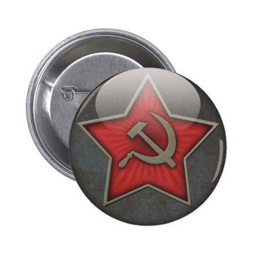 Soviet Star Hammer and Sickle Pin