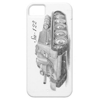 Soviet Su122 iphone case