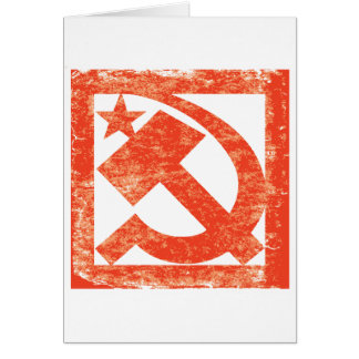 Soviet Symbol Greeting Cards