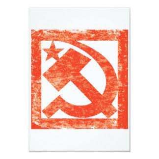 Soviet Symbol Invitations