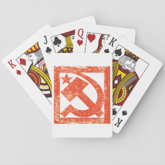 Soviet Symbol Playing Cards