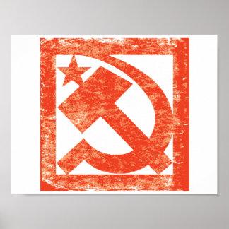 Soviet Symbol Poster