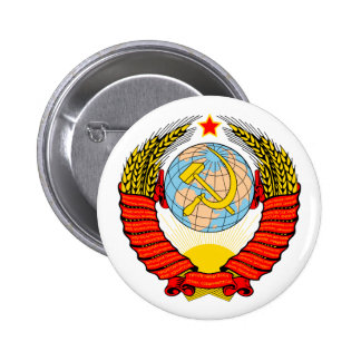 Soviet Union 6 Cm Round Badge