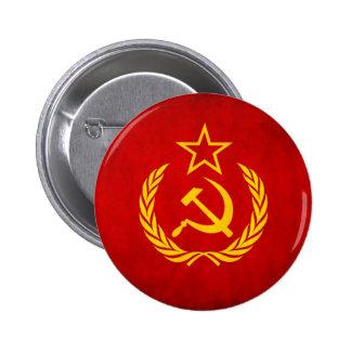 Soviet Union 6 Cm Round Badge