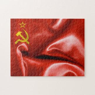 Soviet Union Flag Jigsaw Puzzles