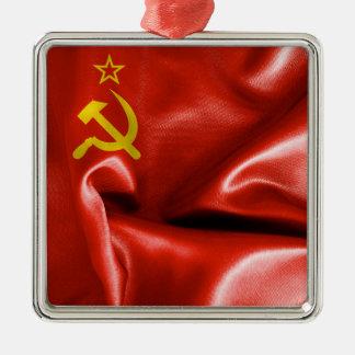 Soviet Union Flag Metal Ornament