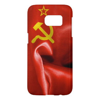 Soviet Union Flag Samsung Galaxy S7 Case