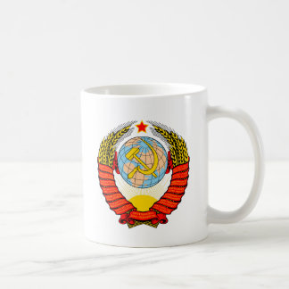 Soviet Union National Emblem Coffee Mug