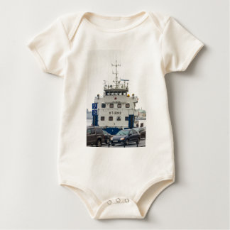 Soviet Union Ship Baby Bodysuit