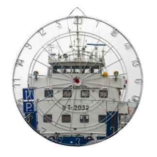 Soviet Union Ship Dartboard With Darts