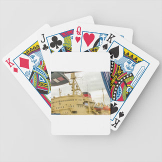 Soviet Union Ship Museum Bicycle Playing Cards