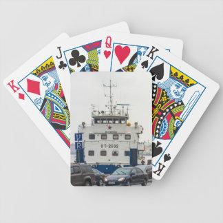 Soviet Union Ship Poker Deck