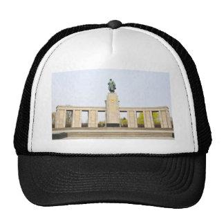 Soviet War Memorial in Berlin, Germany Cap