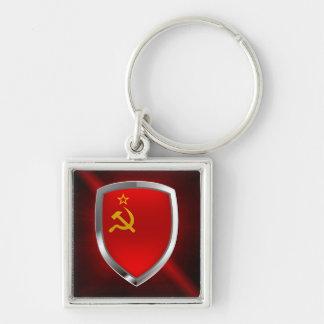 Sovietic Union Mettalic Emblem Key Ring