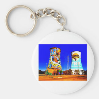 Soweto, South Africa Basic Round Button Key Ring
