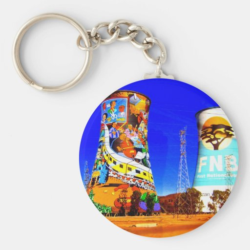 Soweto, South Africa Keychains